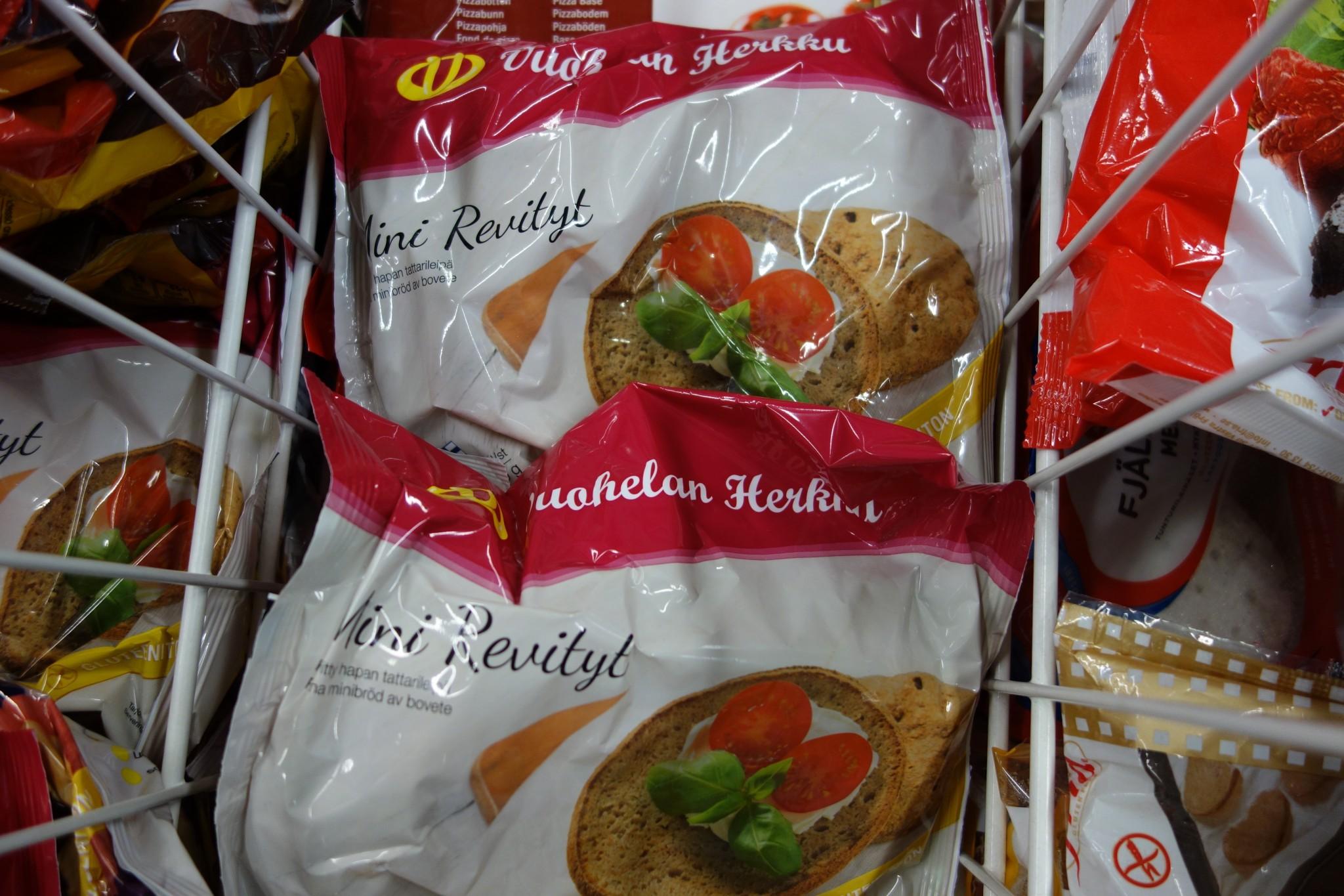 gluteeniton kauraleipä kaupasta